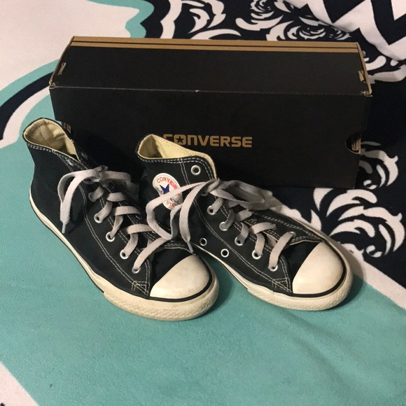 Converse Other - Converse Allstate black high tops